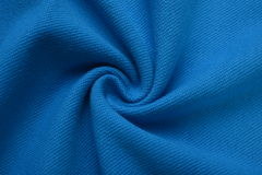Navy blue cloth made by cotton fiber Royalty Free Stock Photo
