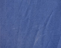 Navy blue fabric with pleats Stock Image
