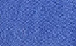 Navy blue fabric with pleats Stock Photo