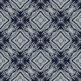 Navy blue and grey line geometric seamless pattern Royalty Free Stock Photography