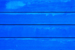 Navy blue horizontal planks Stock Image