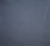 Navy blue leather texture for background Stock Image