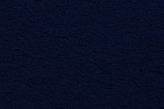 Navy blue material with abstract pattern, a background Stock Photography