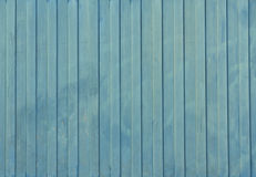 Navy blue painted metal fence texture. Stock Image