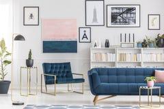 Elegant living room interior royalty free stock image
