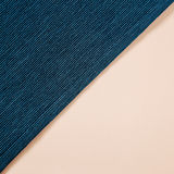 Navy blue stripe fabric and pink paper background Royalty Free Stock Image