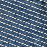 Navy blue striped denim texture, jeans fabric Royalty Free Stock Photos