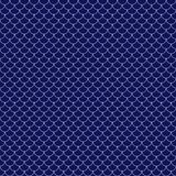 Fish Scales Seamless Pattern royalty free illustration
