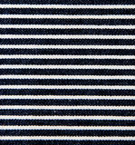 Navy blue and white striped canvas texture. Stock Photos
