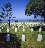 Navy Cemetery, San Diego Royalty Free Stock Photo