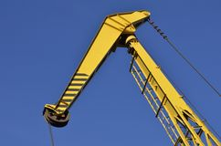 Navy crane Royalty Free Stock Images