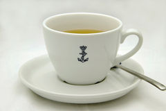 Navy cup of tea Royalty Free Stock Photos