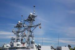 Navy Cutter Upper deck Forward Stock Image