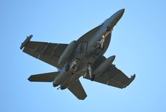 Navy F-18 Royalty Free Stock Photography
