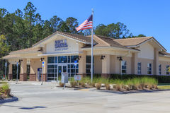 Navy Federal Credit Union Facility. A local Florida branch of the Navy Federal Credit Union headquartered in Vienna, Virginia royalty free stock images