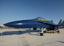 Navy fighter jet Stock Image