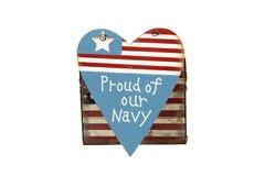 Navy Royalty Free Stock Photography