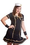 Navy Girl Stock Images