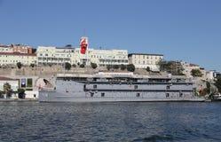Navy hospital ship Royalty Free Stock Photography