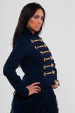 Navy jacket Stock Image