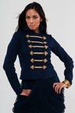 Navy jacket Stock Photography