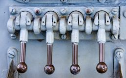 Navy levers  Royalty Free Stock Photography