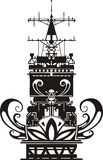 NAVY Military Design - Vector illustration. Royalty Free Stock Image