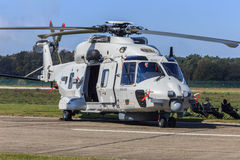 Navy NH-90 helicopter Royalty Free Stock Images