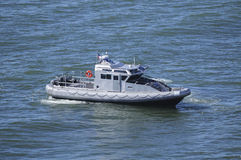 Navy patrol boat Royalty Free Stock Photos