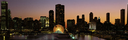 Navy Pier royalty free stock photo