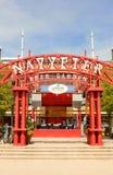 Navy Pier Beer Garden Stock Photography