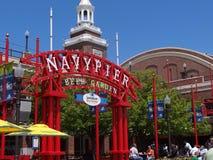 Navy Pier Beer Garden Stock Photos