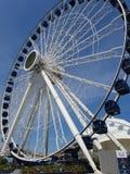 Navy Pier Centennial Wheel Chicago royalty free stock photos