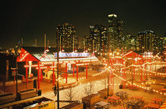Navy Pier. Chicago. Chicago\'s Navy Pier at night Royalty Free Stock Photos