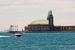 Navy Pier in Chicago Stock Photos