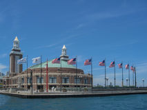 Navy Pier in Chicago Royalty Free Stock Photo