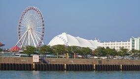 Navy pier in Chicago Stock Photos