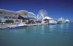 Navy Pier, Chicago, Illinois Stock Photos