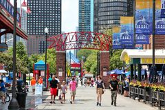 Navy Pier, Chicago royalty free stock photography