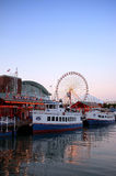 Navy pier Chicago Stock Photos