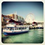 Navy pier Chicago Royalty Free Stock Photo