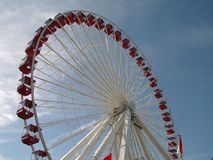 Navy Pier Ferris Wheel stock photography