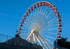 Navy Pier Ferris Wheel Chicago Stock Photos