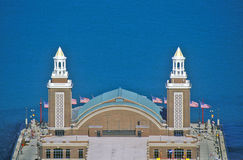 Navy Pier and Lake Michigan, Chicago, Illinois Royalty Free Stock Photo