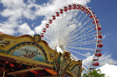 Navy Pier Midway Royalty Free Stock Images