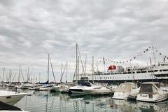 Navy Pier. Scenery Royalty Free Stock Image