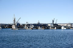 Navy Pier San Diego Stock Image