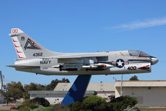 Navy Plane VA-304. VA-304, nicknamed the Firebirds, was an Attack Squadron of the U.S. Navy Reserve, based at NAS Alameda, California. It was established on 1 Stock Image