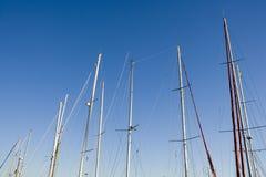 Navy Poles Royalty Free Stock Image