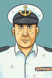 Navy Portrait Royalty Free Stock Image
